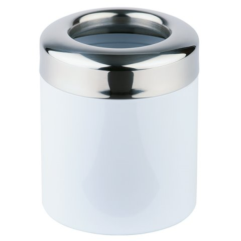 Table Waste Bin 1,2ltr. Ø12cm/height15cm Stainless Steel - 1pc.