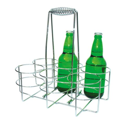 Bottle Rack 32x21,5cm/height32,5cm Metal - 1pc.