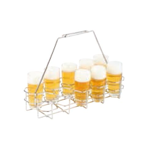 Beer Rack 40x16,5cm/height29cm Metal - 1pc.