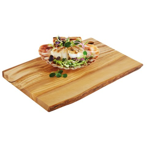 ServingBoard OLIVE 25x17cm/height1,5cm WOOD - 1pc.