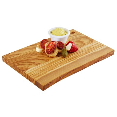 ServingBoard OLIVE 30x20cm/height2cm WOOD - 1pc.