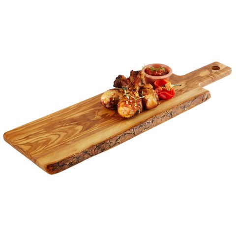 ServingBoard OLIVE 40x15cm/height1,5cm WOOD - 1pc.