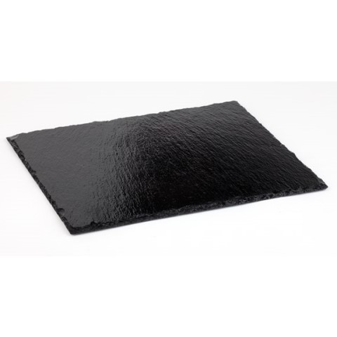 Natural Slate Tray GN1/3 height4-7mm black - 1pc.
