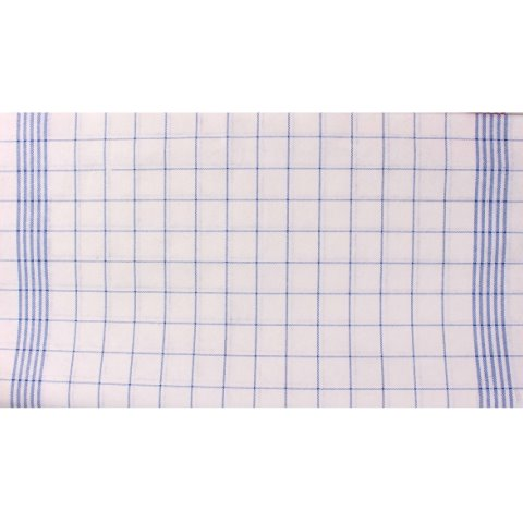 Microfiber Cloths PRONTO 43x70cm white/blue - 10pcs.