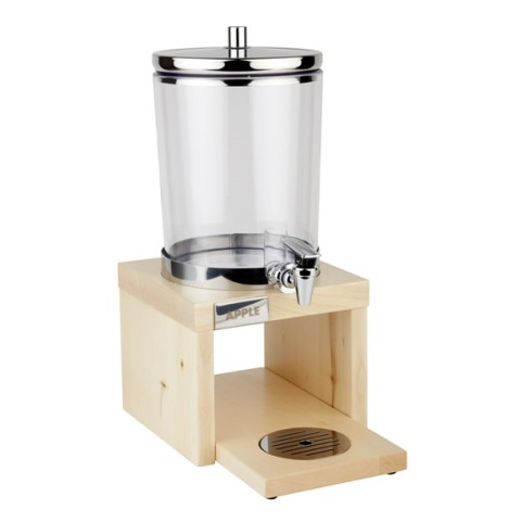 JuiceDispenser BRIDGE 4liter 31x20cm STAINLESS STEEL/WOOD light