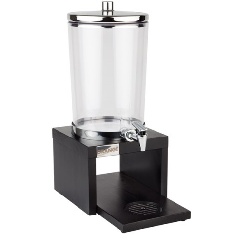JuiceDispenser BRIDGE 4liter 31x20cm STAINLESS STEEL/WOOD dark