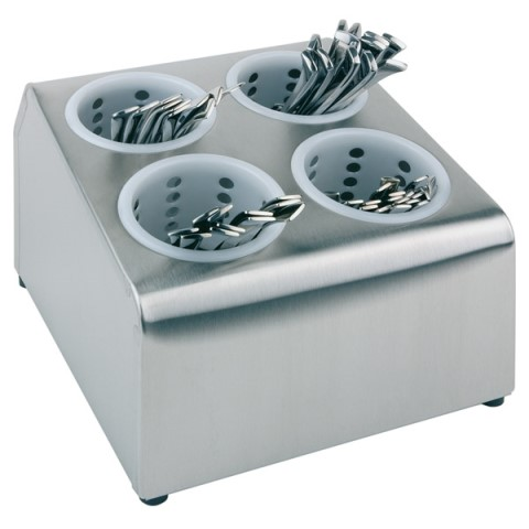 Cutlery Basket 26x30cm/height20cm Stainless Steel - 1pc.