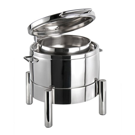 Chafing Dish PREMIUM 10Liter 44x48cm/H39cm StainlessSteel - 1pc.