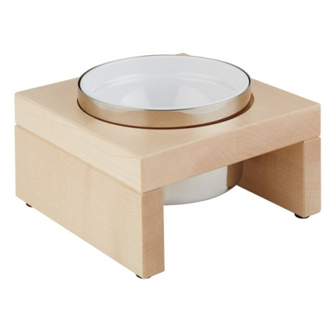 Cooling Bowl BRIDGE 0,5ltr. 18x18cm/height10cm Wood light - 1pc.