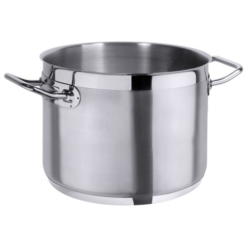 Stock Pot 2200Series 12ltr Ø26cm/height24cm StainlessSteel - 1p