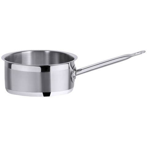 Saute Pan deep 2200Series Ø18cm/height10cm Stainless Steel - 1pc