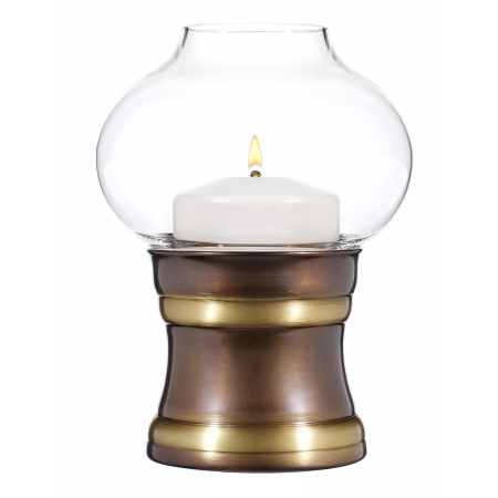 CHARISMA Table lamp Metal, burnished brass finish - 1pc.