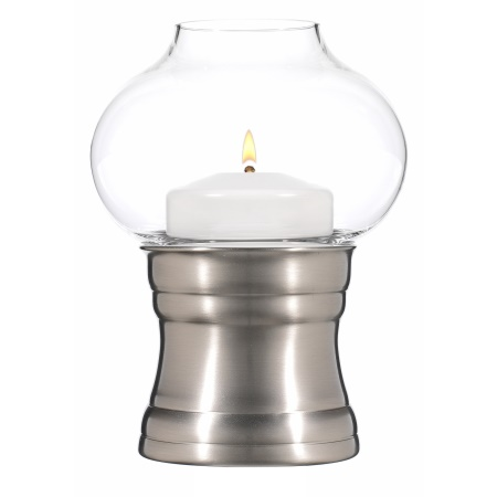CHARISMA Table lamp Metal, brushed nickel finish - 1pc.