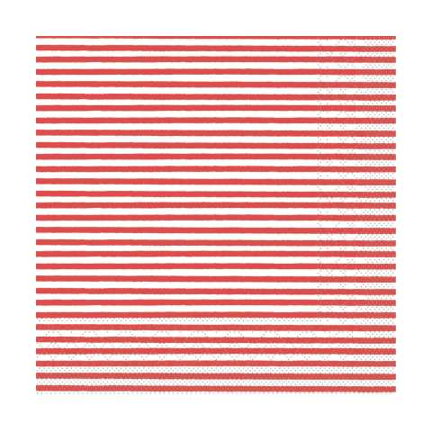 Lunch Napkins HEIKO 33x33cm 1/4fold TISSUE red - 600pcs.