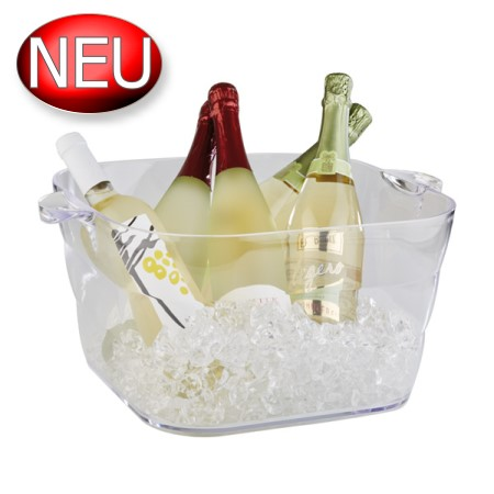 Bottle Cooler 16Liter ca.35x35cm/H20cm Plastic - 1pc.