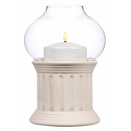 ROMANZA Table Lamp Height17cm CERAMIC white - 1pc.