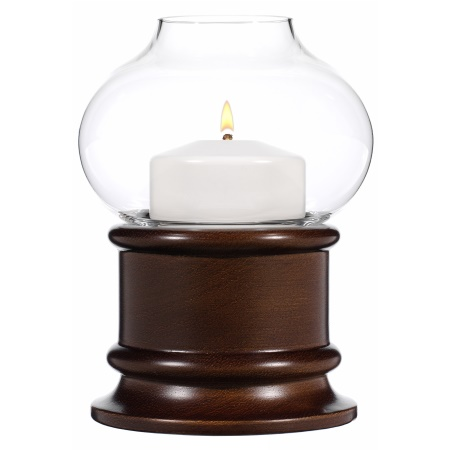 NATURA Table lamp Wood, brown stained - 1pc.