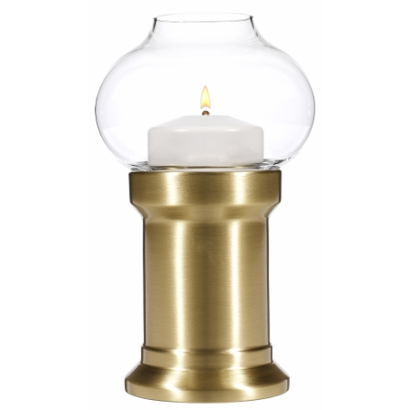 PURA Table lamp Height20cm Metal, brushed brass finish - 1pc.