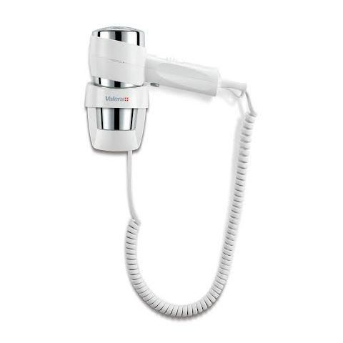 Wall Hairdryer 1600Watt Plastic white - 1pc.