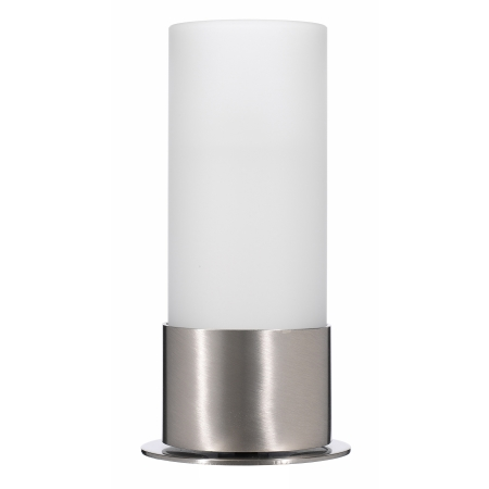 ARTISTA Table lamp Ø6cm/H17cm Metal, brushed nickel finish 1pc.