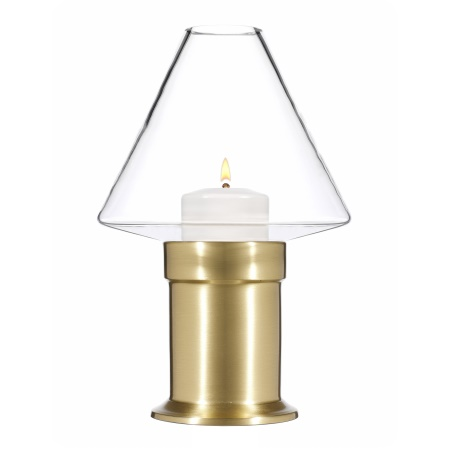 MYSTICA Table lamp Metal, brushed brass finish - 1pc.
