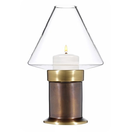 MYSTICA Table lamp Metal, burnished brass finish - 1pc.