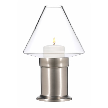 MYSTICA Table lamp Metal, brushed nickel finish - 1pc.