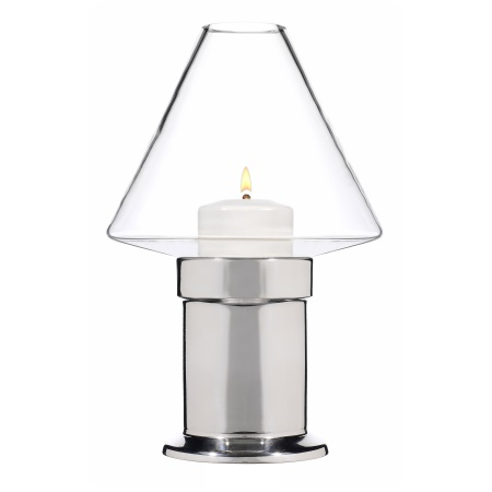 MYSTICA Table lamp Height20cm Metal, silver finish - 1pc.