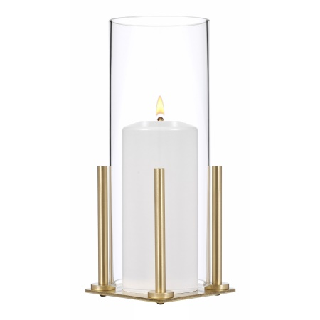 LOGGIA Table lamp Metal, brushed brass finish - 1pc.
