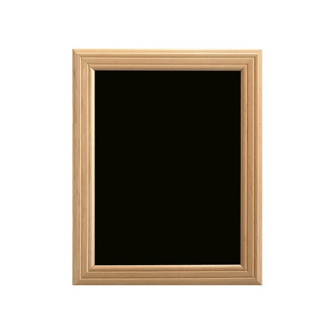Menu Board/Blackboard 40x50cm Wood Beech natural - 1pc.