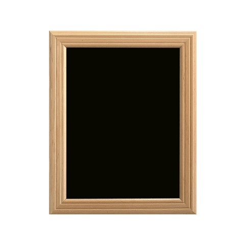 Menu Board/Blackboard 50x60cm Wood Beech natural - 1pc.