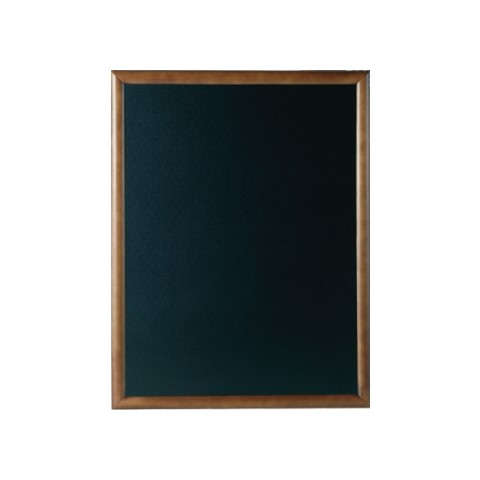 Menu Board/Blackboard 50x60cm Wood Beech dark brown - 1pc.