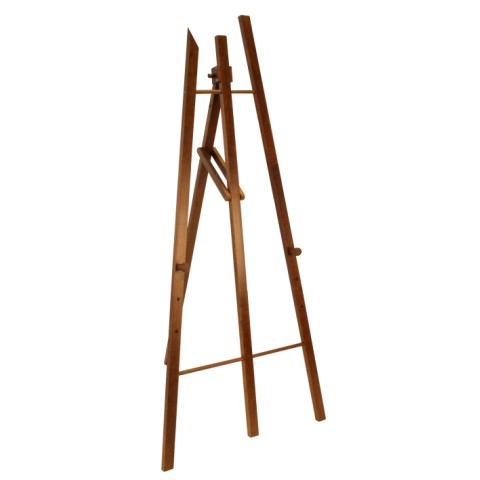 Easel for Blackboards 75x165cm Wood Beech black - 1pc.