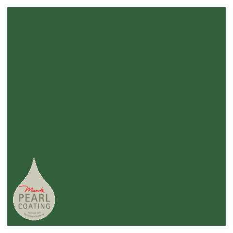 BASICS Table Cloths DARK GREEN 80x80cm PEARL COATING - 45pcs.