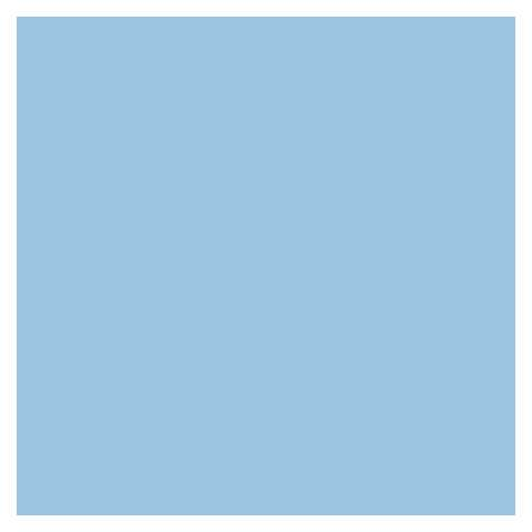 BASICS Table Cloths LIGHT BLUE 80x80cm LINCLASS-Airlaid uni - 60