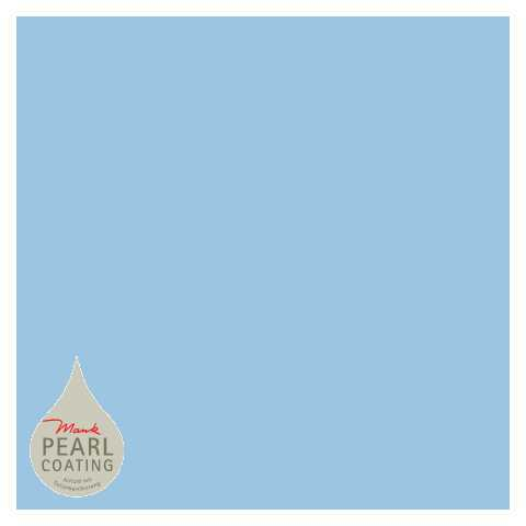 BASICS Table Cloths LIGHT BLUE 80x80cm PEARL COATING - 45pcs.
