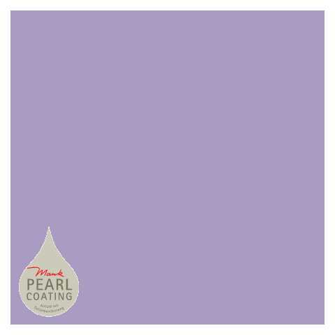 BASICS Table Cloths PURPLE 80x80cm PEARL COATING - 45pcs.
