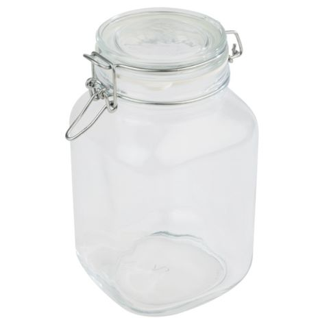 WECK Glass Airtight Closing 2ltr Ø12cm/height22cm Glass - 1pc.