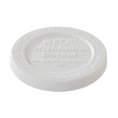 WECK Airtight Cover for all glasses Ø6,5cm PE-Plastic - 5pcs.