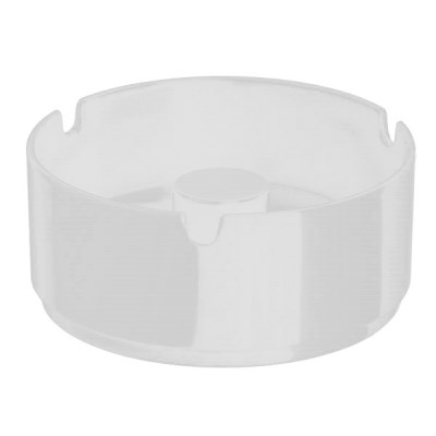Ashtray CASUAL Ø9,5cm/height4,5cm MELAMIN white - 1pc.
