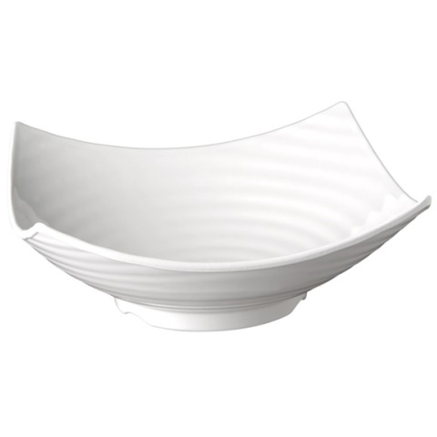 Bowl GLOBAL BUFFET 32,5x32,5cm/height12cm MELAMIN white - 1pc.