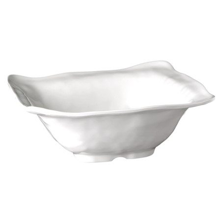 Bowl GLOBAL BUFFET 2,5ltr. 32x32cm/height12cm MELAMIN white 1pc.