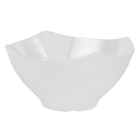 Bowl GLOBAL BUFFET 3ltr. Ø25,5cm/height13cm MELAMIN white 1pc.