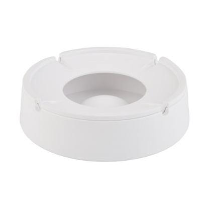 Ashtray XL Ø14,5cm/height4,5cm MELAMIN white - 1pc.