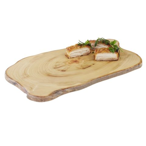 Tray TIMBER 44x25cm/height1,5cm MELAMIN wood effect - 1pc.