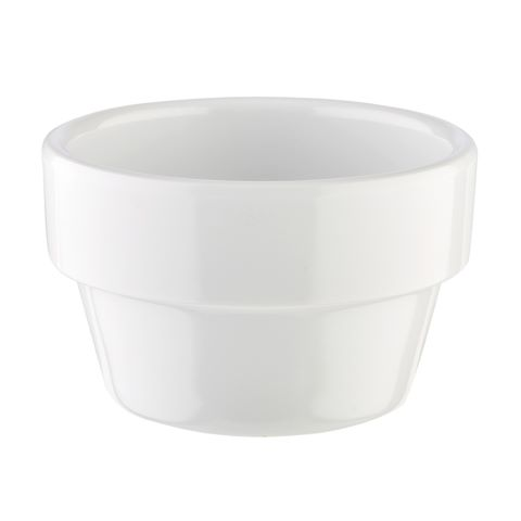 Bowl FLOWER POT ∅6cm/height3,5cm MELAMIN white - 1pc.