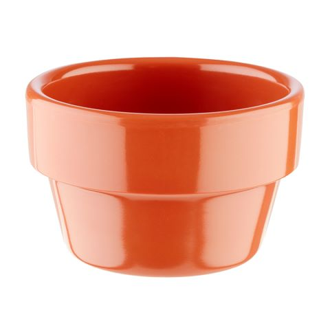 Bowl FLOWER POT ∅6cm/height3,5cm MELAMIN terracotta - 1pc.