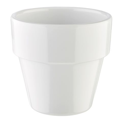 Bowl FLOWER POT ∅9cm/height8,5cm MELAMIN white - 1pc.