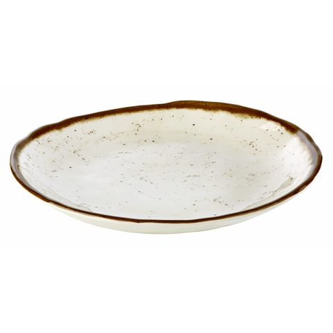 Deep Plate STONE ART ∅24,5cm/height3,5cm MELAMIN - 1pc.