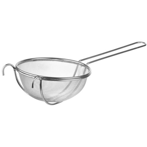 Strainer Ø26cm/height12cm/length28cm Stainless Steel - 1pc.